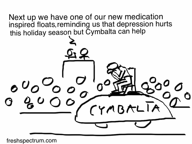Toon: Thanksgiving Day Medication Floats