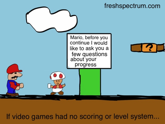 If Mario had an evaluator