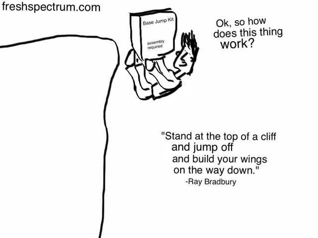 Doing what you love, a conversation with Ray Bradbury
