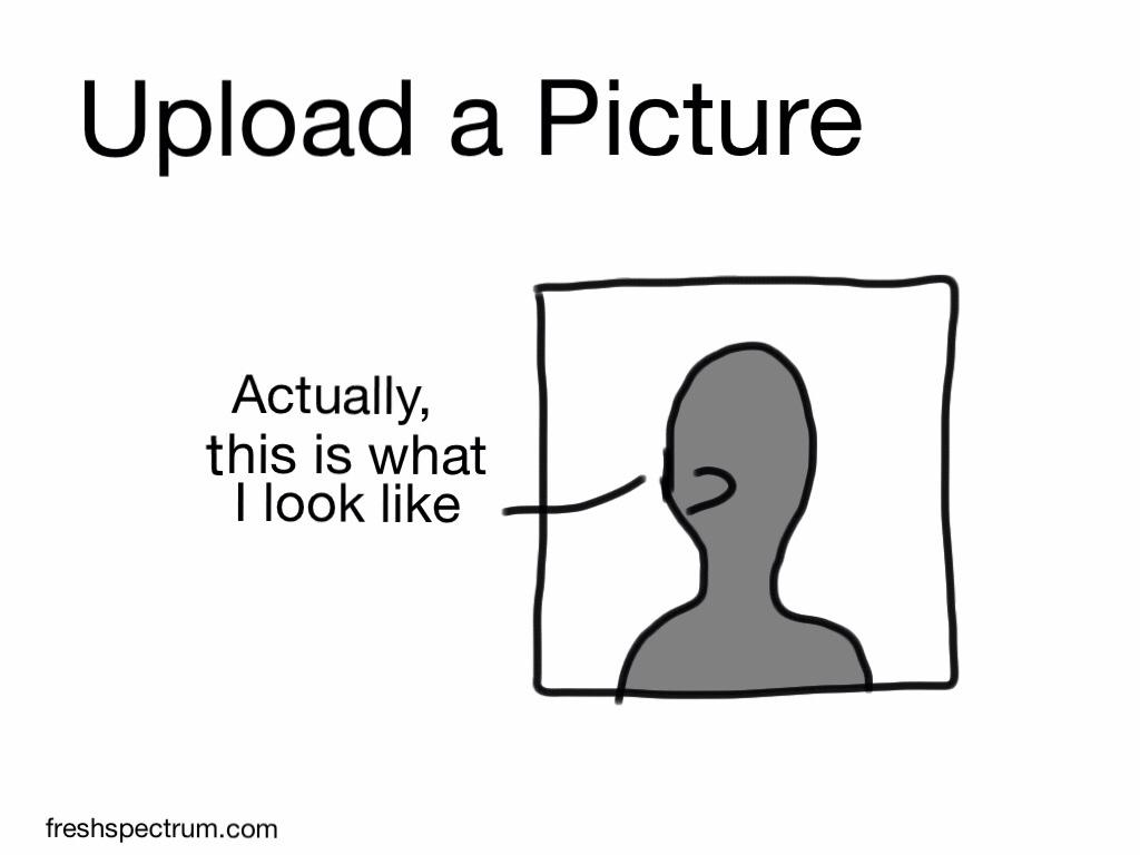 Saturday PSA: Upload a picture