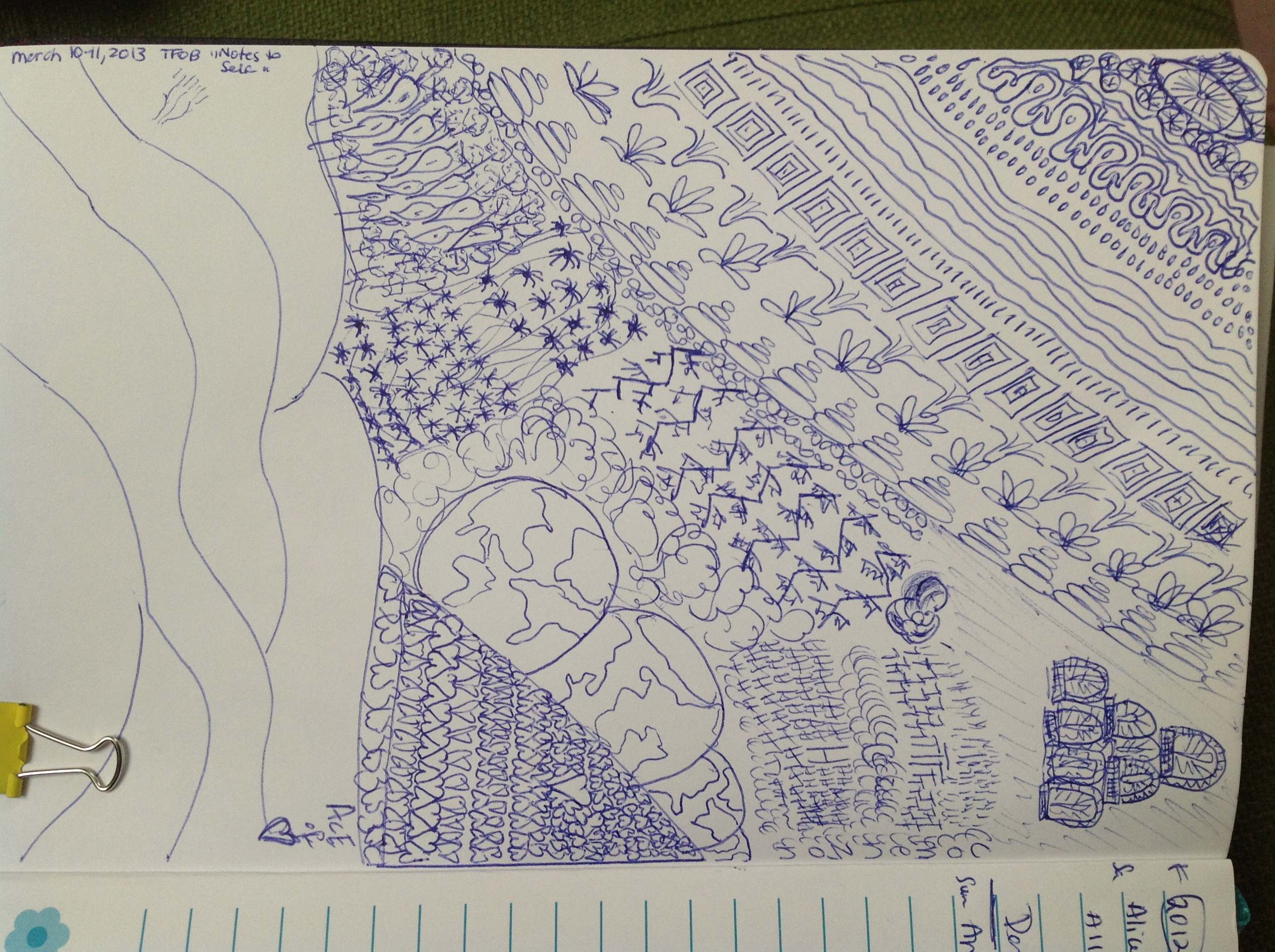 How doodles have freed my mind: guest post by Allison Titcomb