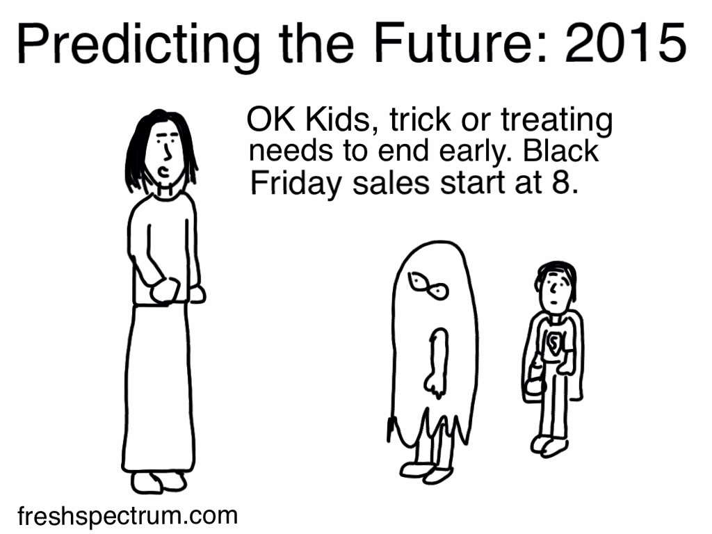 Black Friday in the future