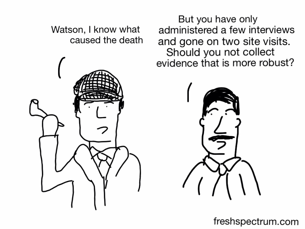 Qualitative Sherlock