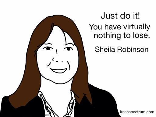 Sheila Robinson Advice