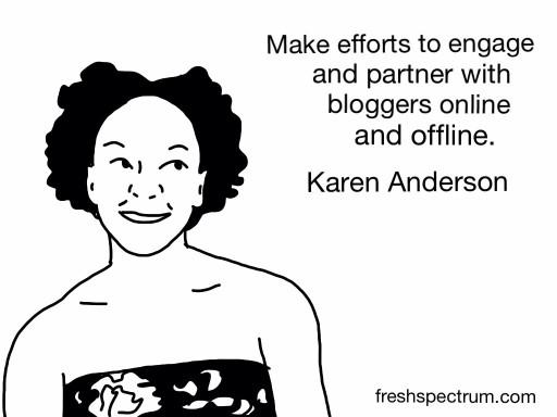 Karen Anderson Advice
