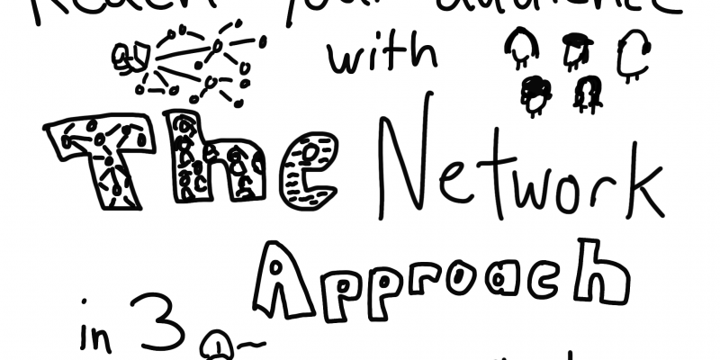 Reach your Audience with the Network Approach in 3 steps by Chris Lysy at freshspectrum.com