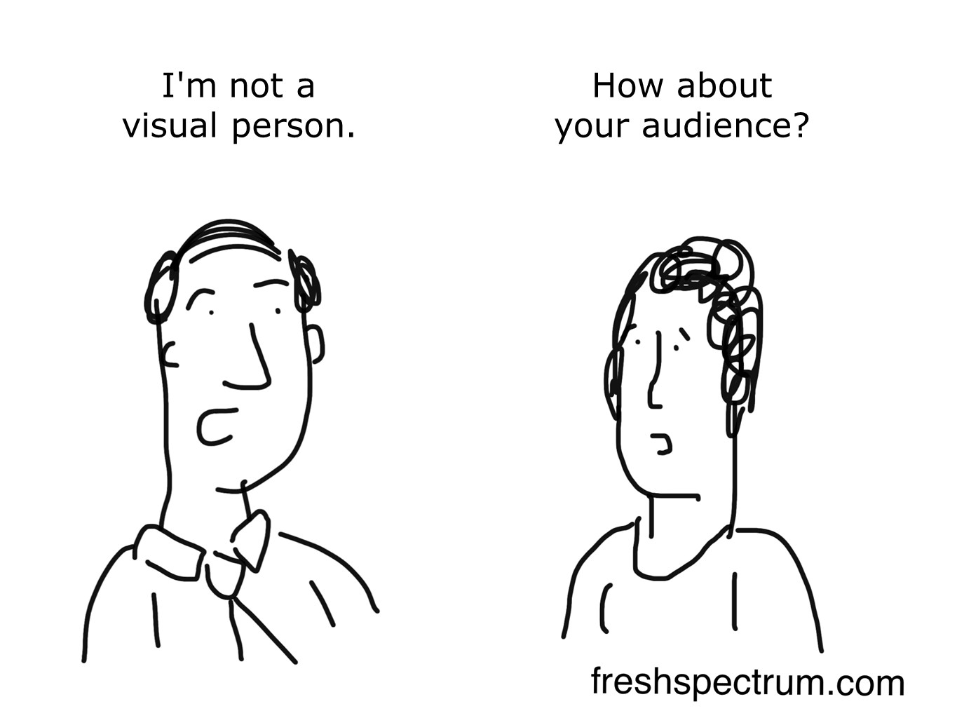 5 new cartoons, who cares if you're not a visual person