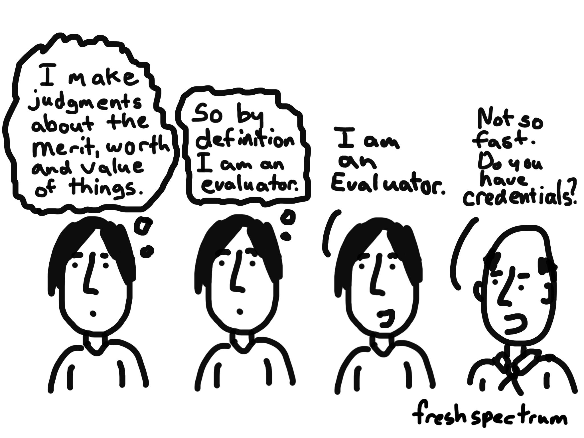 Professionalizing Evaluation