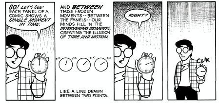 Scott McCloud's Comic on Time