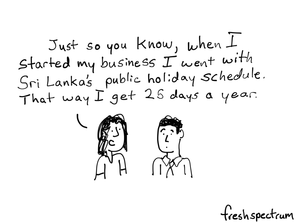 25 days of holiday time cartoon