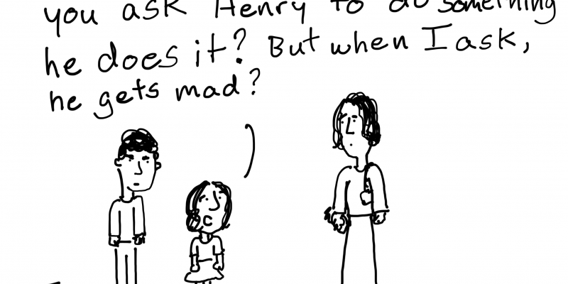 A realist evaluation cartoon by Chris Lysy.
