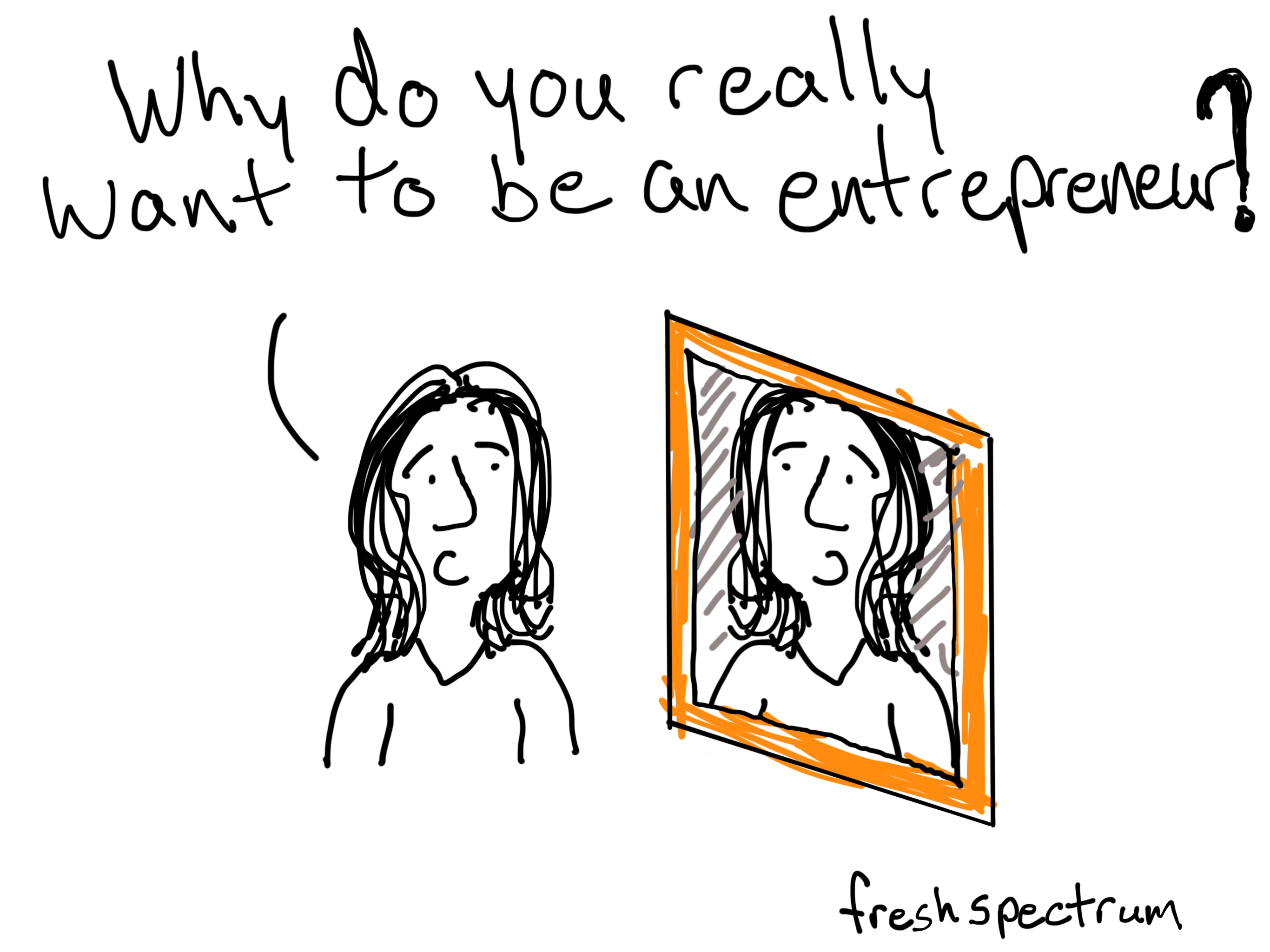 Why be an entrepreneur, inspired by Terry Conlon
