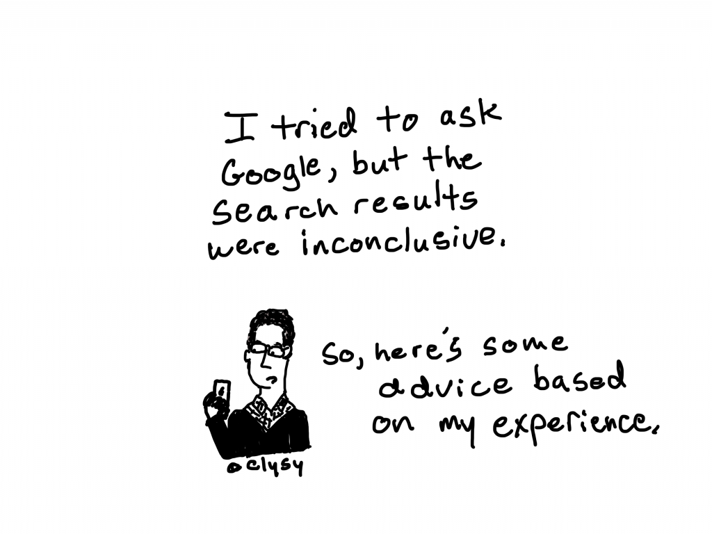 I tried to ask Google, but the search results were inconclusive. So here's some advice based on my experience.