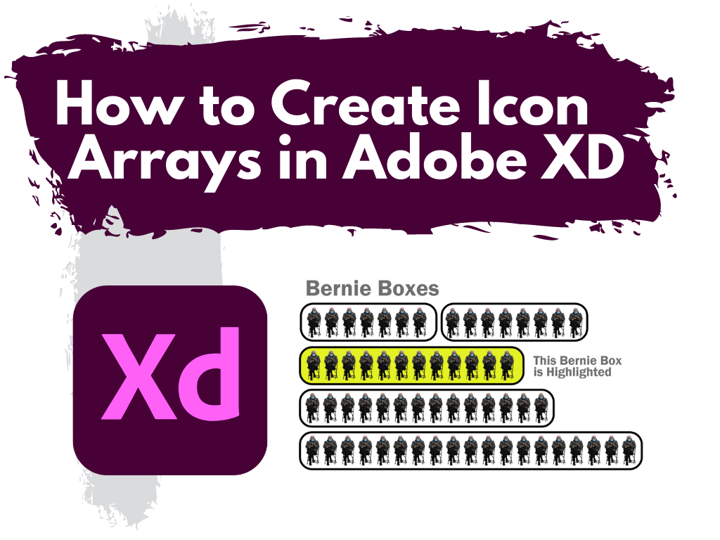 How to Create Icon Arrays in Adobe XD Illustration