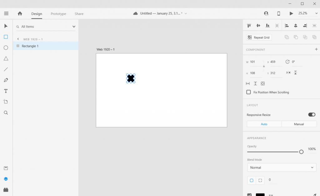 Adobe XD Icon Array Illustration How To 2