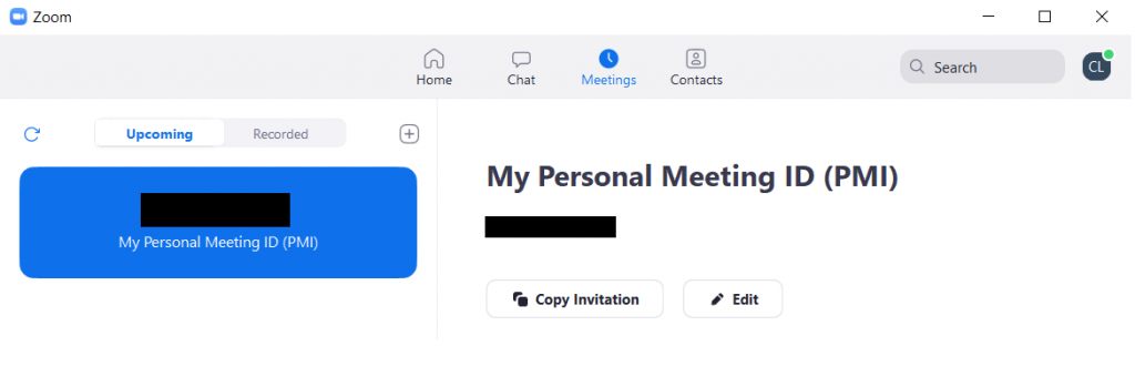 How to Plan and Deliver a Presentation with Zoom (Illustration) Zoom Personal Meeting ID